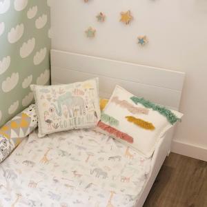 cabecero para camas montessori