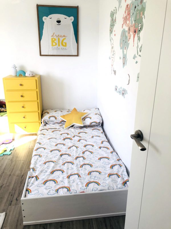 Cama Montessori Kutuva 190 Blanca