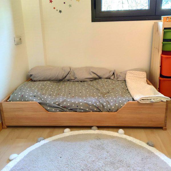 cama montessori 140